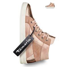 Roségoldener Sneaker von Tamaris