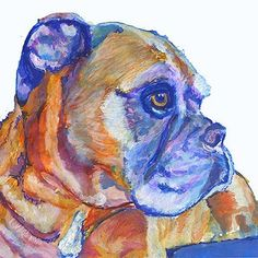 Cool dog art and wall art #dogs #art #painting #love #instagood Boxer Dog art print dog painting Giclee Print colorful modern art Boxer dog gift idea Boxer dog painting colorful boxer dog art print  TO BUY: Comment with your email address and you'll receive a secure checkout link.  Options:  Dimensions: 8X10: 12.27 Dimensions: UK A4 8.27X11.69: 12.27 Dimensions: 11X14: 16.25 Dimensions: UK A3 11.69X16.53: 18.80 Dimensions: 11X17: 18.80 Dimensions: SUPER B 13X19: 22.30  Boxer Dog art print…