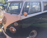 Rare 13 window VW split screen camper van - £12k, no MOT hence the price.