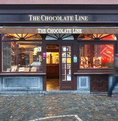 The chocolate line :een chocoladeparadijs in hartje Brugge ... voor magische geuren en smaken