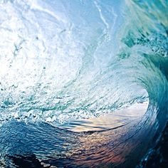 Inside the wave.