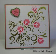 6002/0817 Noor! Design Sjabloon Swirl