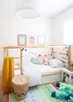 Back to school bedroom makeover: A big girl bedroom reveal – almafied.com...