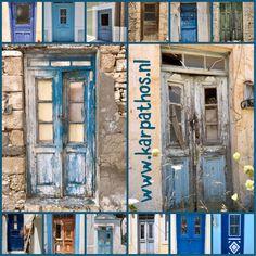 Deuren op Karpathos Karpathos, Painting, Art, Art Background, Painting Art, Kunst, Paintings, Performing Arts, Painted Canvas