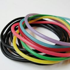 Jelly Bracelets... the more, the better =)