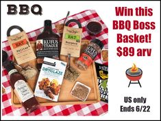 This great giveaway is sponsored by GourmetGiftBaskets.com and hosted by Mom Does Reviews Summer is here and it's the perfect time for those outdoor gatherings. Nothing says summer like a BBQ! This great gift basket is filled with goodies to make your BBQ a huge success!