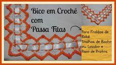 BICO EM CROCHÊ COM PASSA FITAS