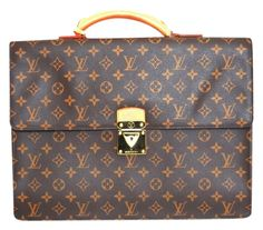 Louis Vuitton Briefcase Laptop Bag. Carry your laptop in style! The Louis Vuitton Briefcase Laptop Bag is a top 10 member favorite on Tradesy. Save on yours before they're sold out!