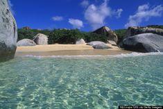11 Caribbean beaches to add to my bucket list including the Baths, Virgin Gorda, BVI (huffpost travel)