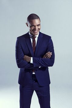 """Trevor Noah is replacing Jon Stewart on """"The Daily Show."""" The South African comedian, who joined the Comedy Central staple as a senior international correspondent in December, will be filling the late-night slot at just 31 years old. Rihanna Home, Noah Name, Old Comedians, Trevor Noah, Jon Stewart, The Daily Show, Kevin Hart, Comedy Central, Ny Times"""