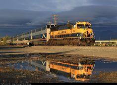 RailPictures.Net Photo: ARR 4327 Alaska Railroad EMD SD70MAC at Anchorage, Alaska by Steven Mckay