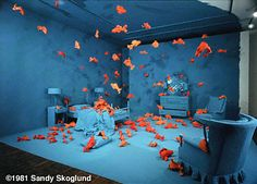 fish revenge, sandy skoglund, 1981. Fictional photography example.