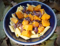 Roasted squash and onion pasta - CookTogether