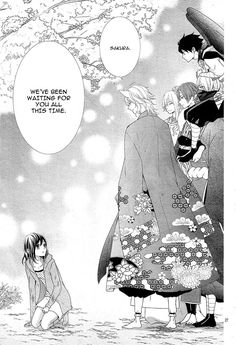Read Koi to Kemono to Seitokai Chapter 4 - From Chibi Manga: A heroine who can see a spirit, sakura! Manga Anime, Manhwa Manga, Manga Couples, Cute Anime Couples, Manga Books, Manga To Read, Comics Anime, Romantic Manga, Manga List