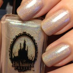 Nude holo with baby blue shimmer coming soon!