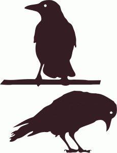 Silhouette Design Store: crows