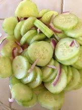 Paleo Thai Cucumber Salad  paleocupboard.com
