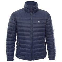 K-Way Men's Drake Down Jacket - Mid Blue Mountain Biking, Drake, Outdoor Gear, Hiking, Winter Jackets, Camping, Street Style, Blue, Fashion