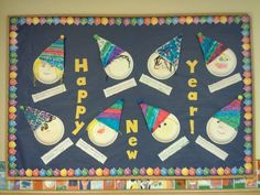 20 Best New years bulletin board images | New years ...