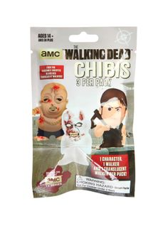 The Walking Dead Chibi Figure Blind Bag.  Some unsettling may occur.