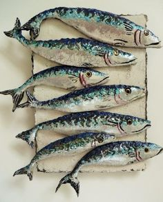 Shoal of Mackerel - Diana Tonnison