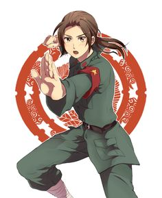 Day 12- character with your favourite voice/seiyuu: China, his lines are the best and his character just takes the cake!