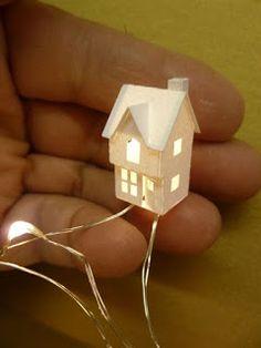 Karin Corbin Miniatures - cool paperhouses tutorials