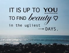 Muchas veces en nuestro día a día los obstáculos no faltan, pero todo se reduce a la actitud que tomemos ante ellos. Podemos dejar que sea un buen día o dejar que las pequeñas (o a veces grandes) cosas nos roben sonrisas.  Cada día que vivimos es un regalo, y no tenemos que permitir que un buen día se transforme en lo contrario.