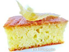Prajitura cu gris si lamaie No Cook Desserts, Sweet Memories, Cornbread, Vanilla Cake, Fudge, Gluten, Sweets, Cookies, Ethnic Recipes