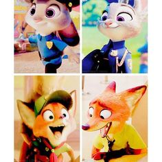 Judy Hopps ~ Nick Wilde ~ Back and Later ~ Zootopia