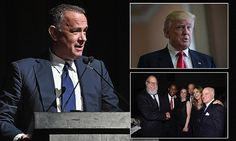 Tom Hanks delivers the speech we wish our politicians could make #DailyMail.. Thanks Tom