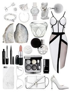 """""""White"""" by kyramichels ❤ liked on Polyvore featuring L.K.Bennett, Native Union, Muse, Marc Jacobs, David Jones, Chanel, Carolee, Amanda Rose Collection, Ippolita and Menu"""