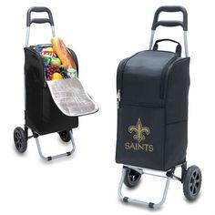 New Orleans Saints Black Cart Cooler