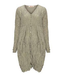 Crinkled silk coat  by Privatsachen. Shop now: http://www.navabi.co.uk/coats-privatsachen-crinkled-silk-coat-khaki-green-23956-1900.html?utm_source=pinterest&utm_medium=social-media&utm_campaign=pin-it