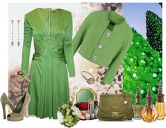 """""""A green christmas"""" by armband ❤ liked on Polyvore"""