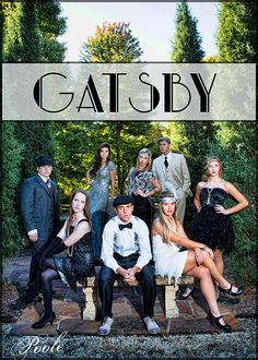 A photoshoot with my Senior Models with a Great Gatsby theme.  www.nancypoole.com  Nancy Poole Photography