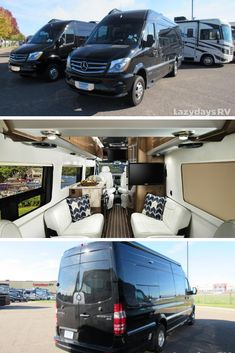 The Airstream Interstate Lounge is the perfect for a quick weekend get-away or for a roadtrip to remember. Check it out at Lazydays and let our team know if you have any questions! Class B Motorhomes, Motorhomes For Sale, Used Rvs For Sale, Rv For Sale, Super C Rv, Airstream Interstate, Luxury Rv, Lux Cars, Travel Trailers For Sale