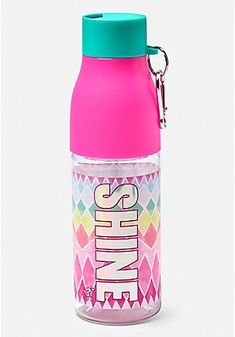 Our cute water bottles for girls are extra-stylish & functional, too! Perfect for her practice, class, or travel - shop girls' water bottles from Justice today. Cool Baby Clothes, Cool Baby Stuff, Rainbow Dress Girl, Tent Air Conditioner, Hello Kitty Suitcase, Star Wars Gadgets, Starbucks Water Bottle, Glitter Water Bottles, Travel Supplies