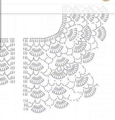 Crochet Vest Pattern Knit Crochet Crochet Patterns Crochet Baby Booties Baby Girl Crochet Crochet For Kids Baby Knitting Hand Embroidery Baby DressDuplicate from picture no patternBeris Agnew's media statistics and analyticsThis model is a cardigan t Diy Crochet Vest, Col Crochet, Gilet Crochet, Diy Crafts Crochet, Crochet Vest Pattern, Crochet Diagram, Crochet Blouse, Crochet Chart, Crochet Motif