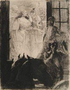 Le Triomphe Mondain By Albert Besnard ,1886