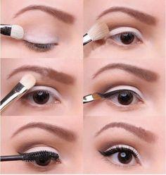 Dramatic Cat Eye Makeup tutorial | diy # makeup tutorial # make up