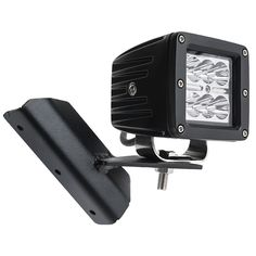 """Jeep Cherokee XJ (84-2001) A-Pillar LED Light Mounts - 3"""" Square LED Auxiliary Lights   Work & Off Road Light Accessories   LED Auxiliary Work Lights   Super Bright LEDs"""