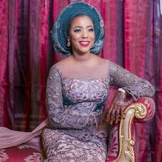 I seriously can't wait to attend a northern wedding, I love learn about other cultures, seven days wedding non stop . I will kuku just turn it into a vacation because all I will be doing will be eating, dancing (can't dance to save my own life) and sleeping. Princess Siddika Lamido Sanusi in her third outfit for her wedding. Thank you so much for choosing us darling.  Dress @hudayya  Aso oke @bimmms24