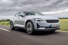 Polestar 2 EV via @onreact Electric Motor, Electric Cars, Digital Instruments, Bmw I3, Premium Cars, First Drive, Sub Brands, Car Advertising, Front Brakes