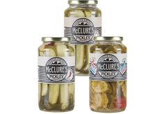 Pickles. Your choice: Pickles Spicy Spears, Sweet Butter Chips, Sweet & Spicy, Garlic Dill or Kosher Dill Spears.  Find this and other BBQ menu items at your local Gordon Food Service Store.