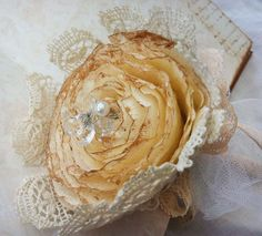 Wedding pen - Lace Rose £19.99
