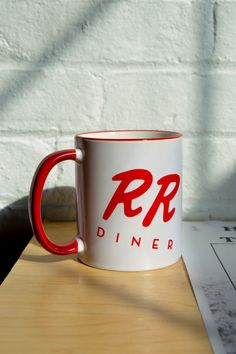 Twin Peaks Coffee Mug from the Double R for a Damn Fine Cup of Coffee with your Cherry Pie Includes BOB Wanted Poster. Bitcoin Accepted