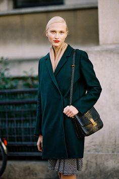 Vanessa Jackman: Paris Fashion Week SS 2013....Yulia
