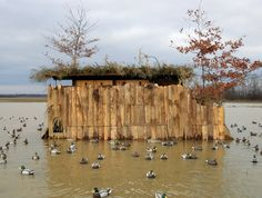 Have Duck Blind, Will Travel: The Dillard Brothers' Mobile Duck Blind Arkansas Duck Hunting, Duck Hunting Boat, Quail Hunting, Waterfowl Hunting, Duck Boat, Hunting Guns, Deer Hunting, Hunting Stuff, Duck Hunting Blinds