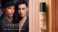 Uma ideia da KIKO MILANO para sublimar a pele, oferecendo ao rosto um efeito conforto imediato e uma nova sensação de leveza. É Unlimited Foundation SPF 15, a base de longa duração que oferece um acabamento luminoso e natural. Um instrumento indispensável...